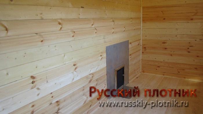 Проект Б-01 (баня 4х6)