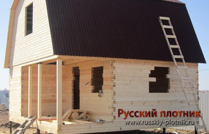 Проект Б-18 (баня 6х6)