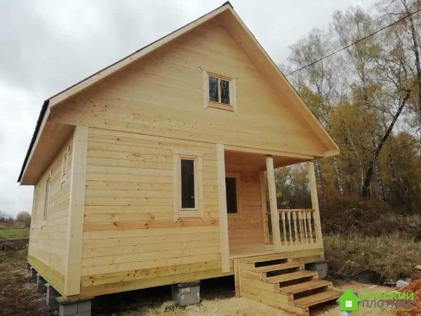 Построили дом 6х8 в Орловской области