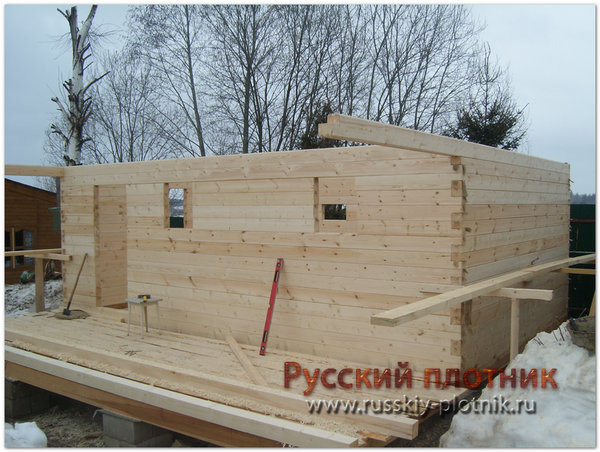 Проект БР-23 (дом 6х6)