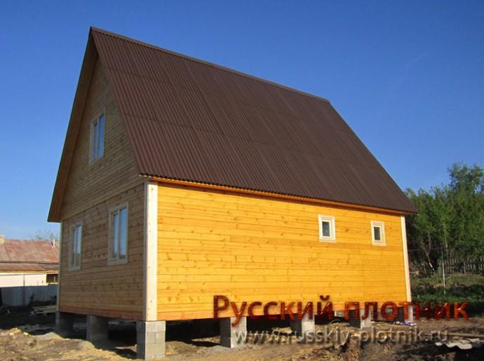 Проект БР-32 (дом 6х8)