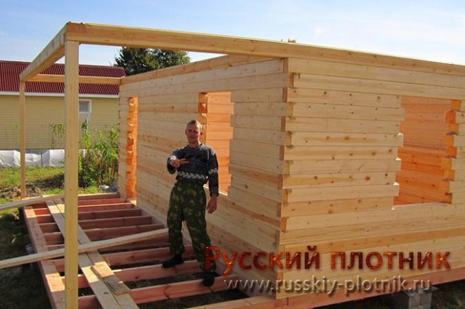 Проект БР-34 (дом 6х8)