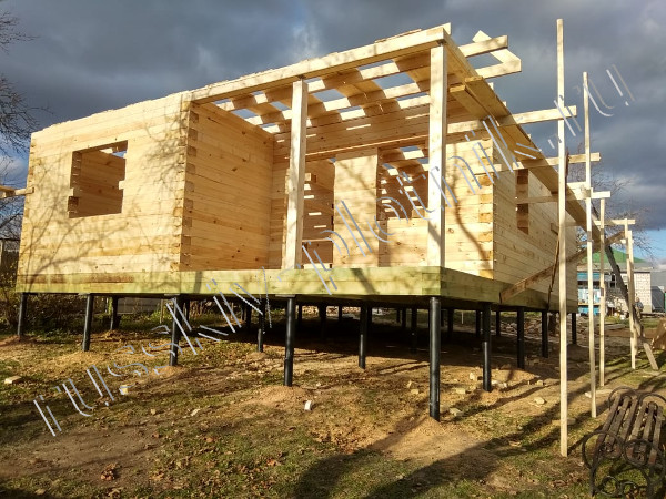 Проект БР-62 (дом 8х10)