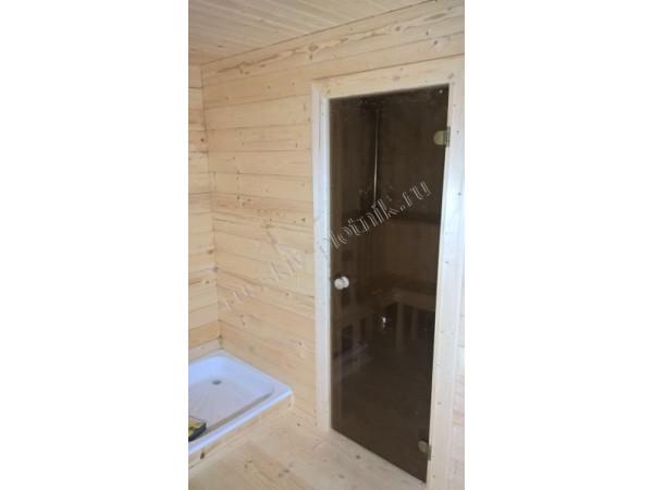 Проект Б-16 (баня 6х8)
