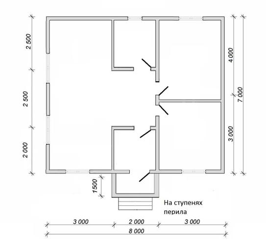 Дом из бруса в Подмосковье под ключ