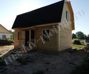 Построен дом 6х8 в Калужской области