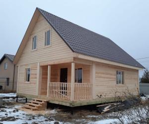 Дом 8х10 в Ленинградской области