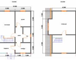 Проект БР-51 (дом 6х8)