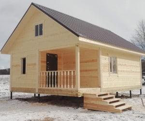 Дом под ключ в Псковской области