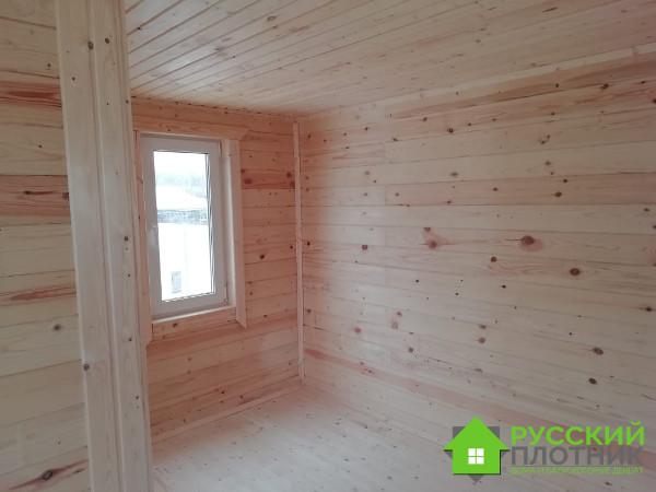 Построили баню 4х7 в Тульской области