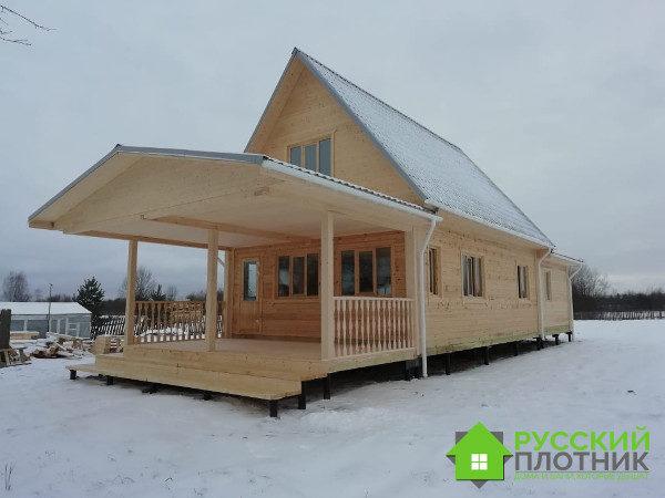 Проект БР-66 (дом-баня 6х16)