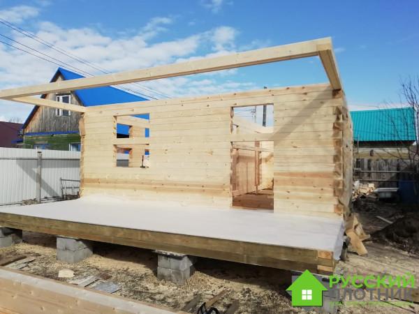 Построили дом 6х8 в Тамбовской области